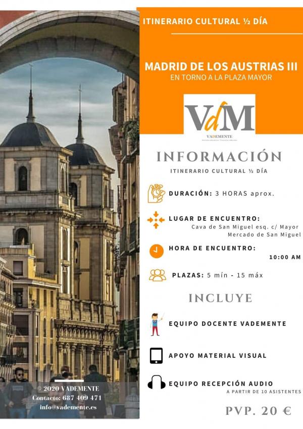 itineario cultural Madrid austrias Plaza Mayor