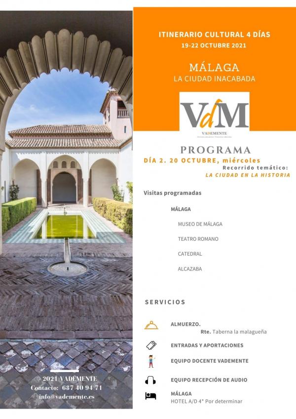 Málaga vademente viaje cultural